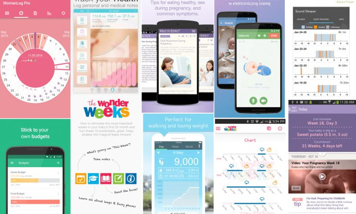 Top 10 aplikacji na telefon dla mam