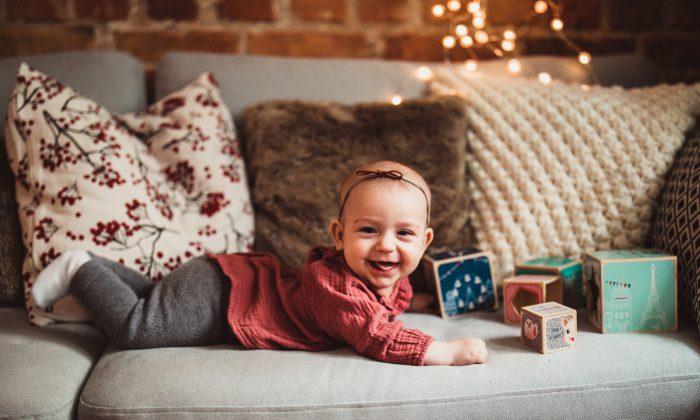 Dla niemowląt na Gwiazdkę