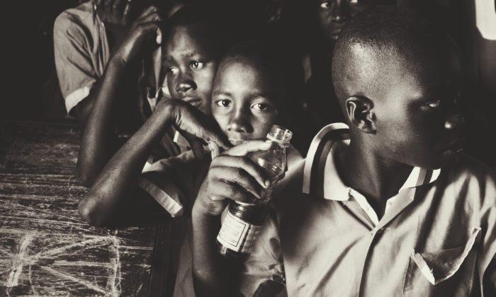 Mercedesem do Gambii po uśmiech