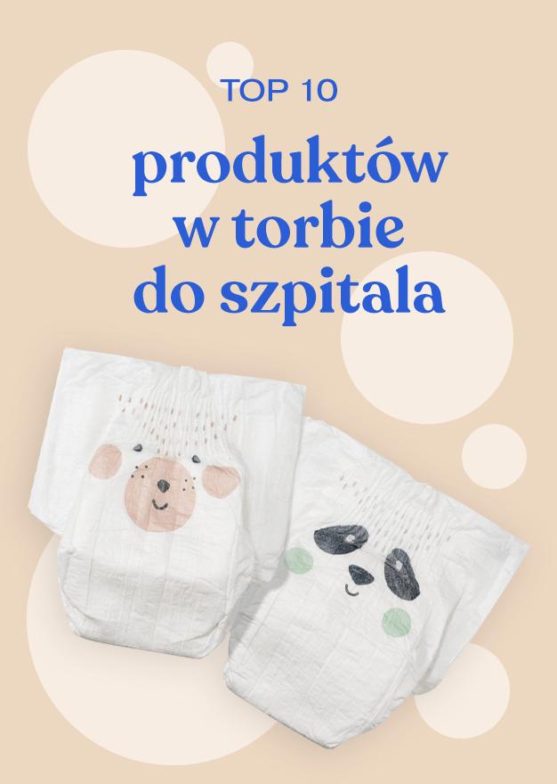 Top 10 produktów w torbie do szpitala