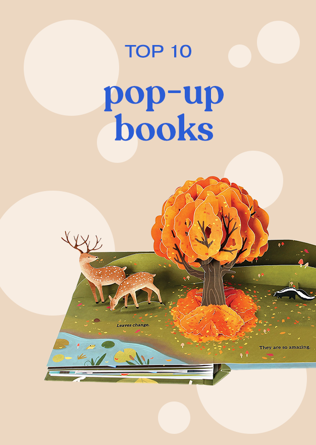 TOP 10 pop-up books