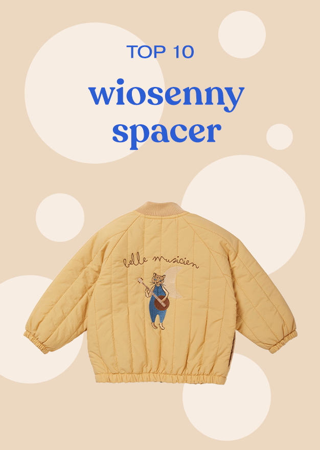 TOP 10 wiosenny spacer